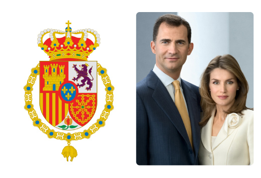 SS.MM. el Rey D. Felipe VI y la Reina Dña. Letizia